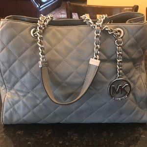Michael Kors Quilted Soft Leather Bag